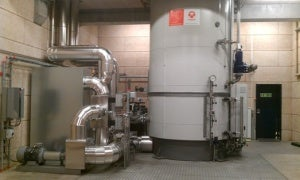 One of the Electrode boiler systems installed in Denmark.