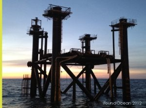 FoundOcean has completed foundation grouting for three new platforms in the North Sea.