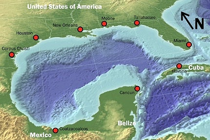 Julia oil field is located in the Gulf of Mexico