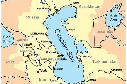 Kashagan oil field is located 80km south-east of Atyrau in the North Caspian Sea