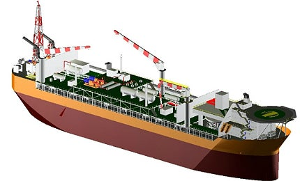 The fields have been developed using a large production vessel (FPSO), to produce from the subsea wells