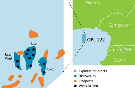 Usan Offshore Oil Field, OPL 222, Nigeria