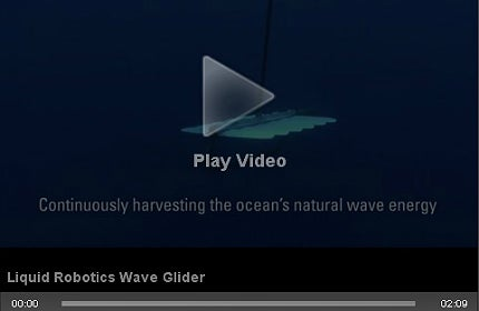 Offshore video feature