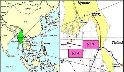 Zawtika Project Gulf Of Martaban Myanmar Burma Offshore