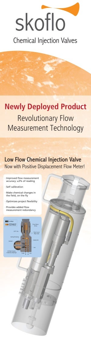 SkoFlow low injection valve