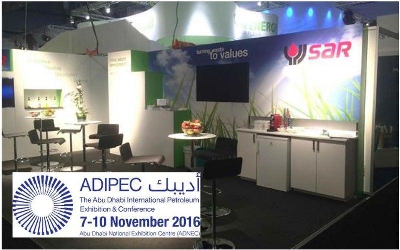 SAR at ADIPEC 2016