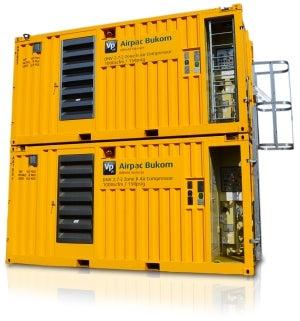 New DNV 2.7-2 Zone II 1,000scfm Air Compressor.