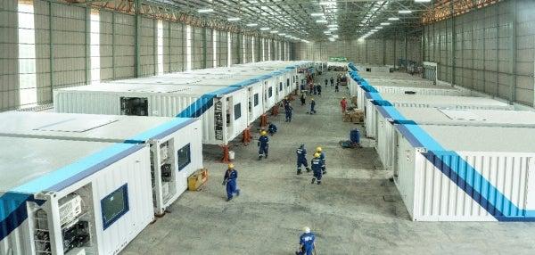 AIS fit-out factory