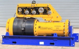 Subsea pig launcher