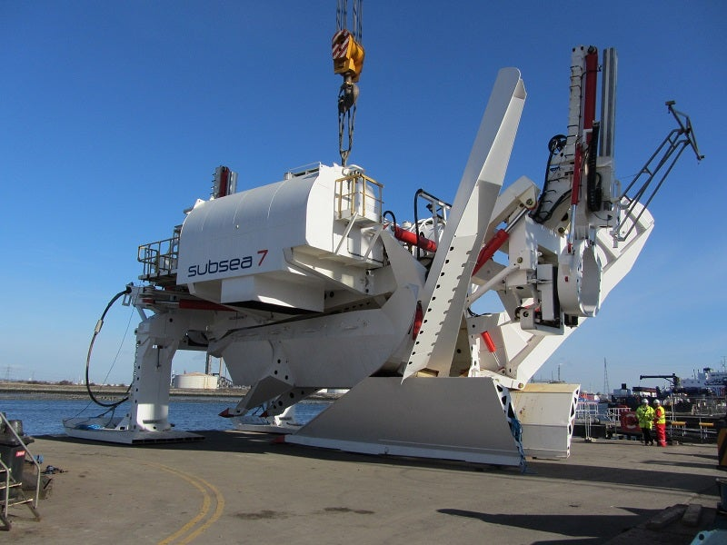 Subsea 7's Variable Multipass Plough (VMP)