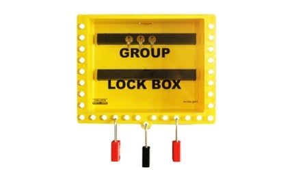 Grouop lock box