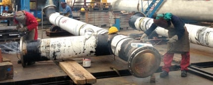 Construction and laying of pipelines