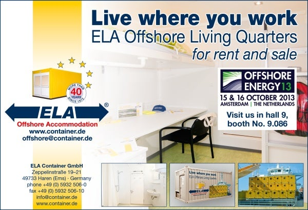 Offshore Energy 2013