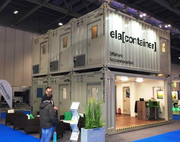 ela container exhibition