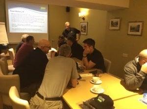 Hull inspection training