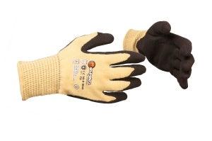 Flame arcflash cut-resistant gloves