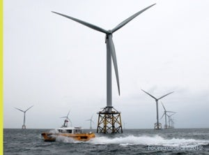 FoundOcean has been awarded the Large Project award at the RenewableUK Energy Awards 2012.