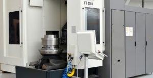 Gall Thomson new CNC FT4000 machine.