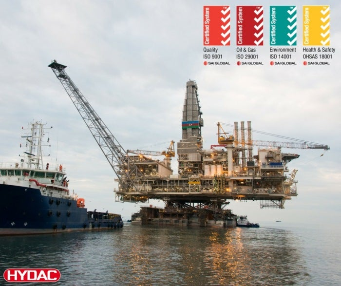 hydac offshore rig