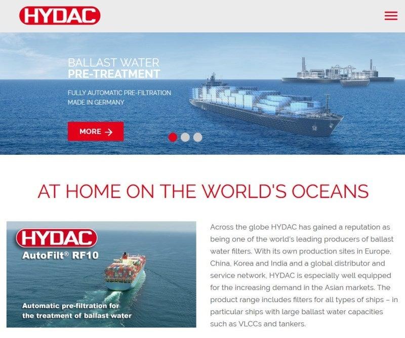 water ballast website