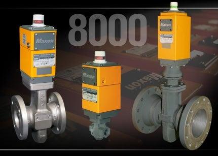 MAXON 8000 valves