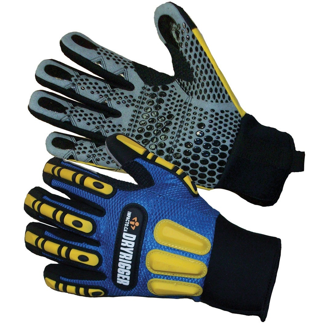 Oil and water resistant gloves