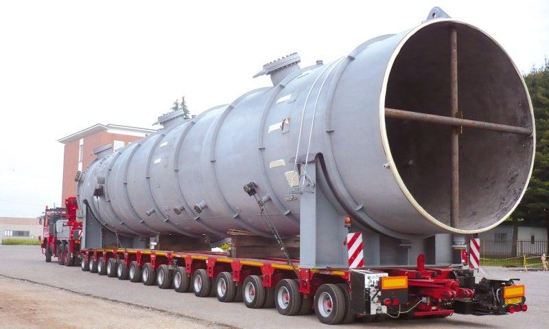 Heavy-duty modular trailer