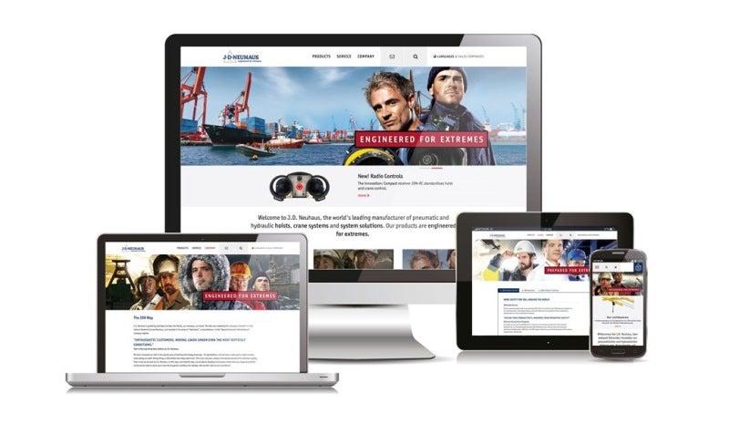 new J D Neuhaus website