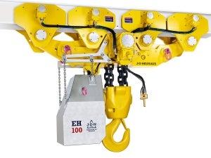 air-operated hoist