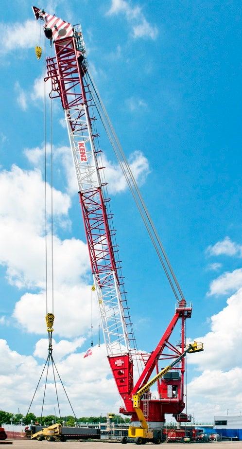400t Kenz boom crane