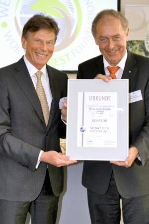 Dr. Franz Josef Radermacher with Bernd M. Stütz.