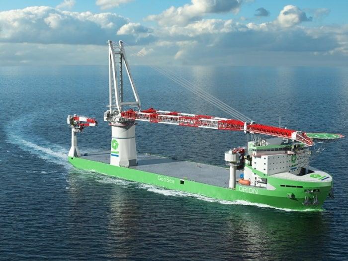 orion windfarm installation vessel
