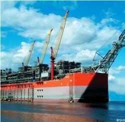 Egina oil platform