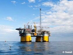 Kristen oil platform