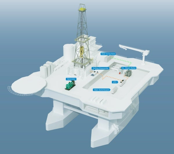 offshore energy recovery storage