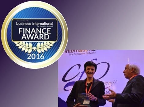 2016 business international finance award