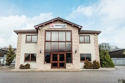 New Raccortubi warehouse in Aberdeen, Scotland.