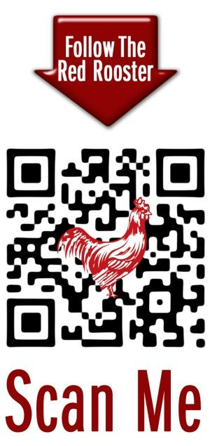Red Rooster has introduced a new QR code.