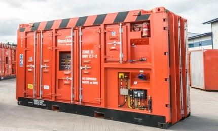 1,600cfm Zone II air compressor