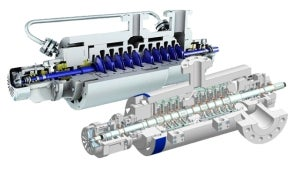 Pumps for injecting hydrocarbons
