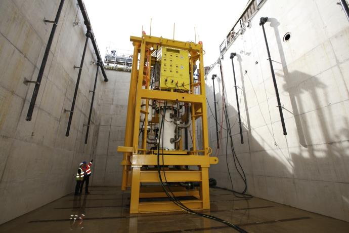 The subsea pump for Shell is based on the Sulzer proven and tested design.