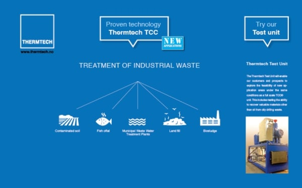 Treatment of industrial waste