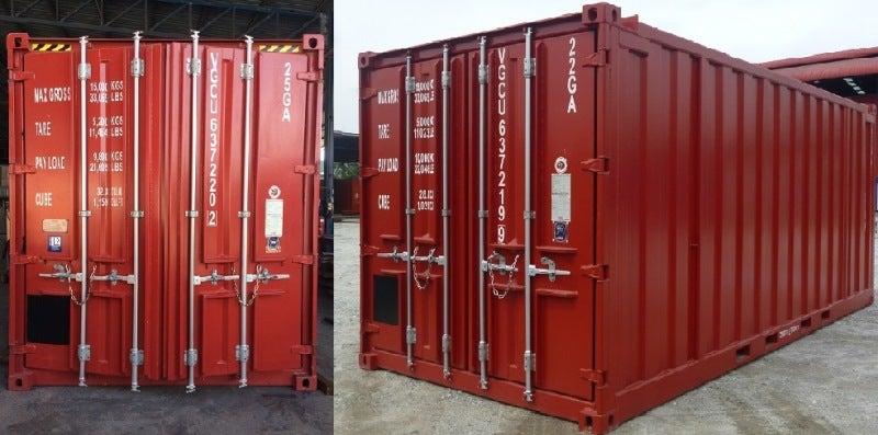 new twenty foot container