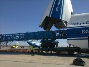 Super-heavy cargo charter