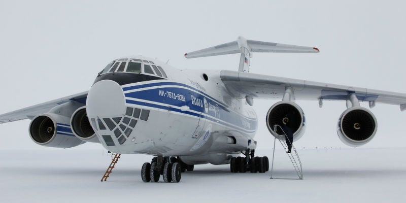 Antartic airfield operations