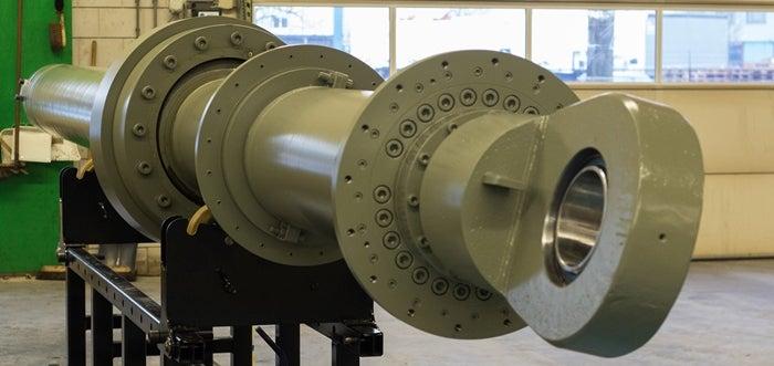 modified spud carrier cylinder