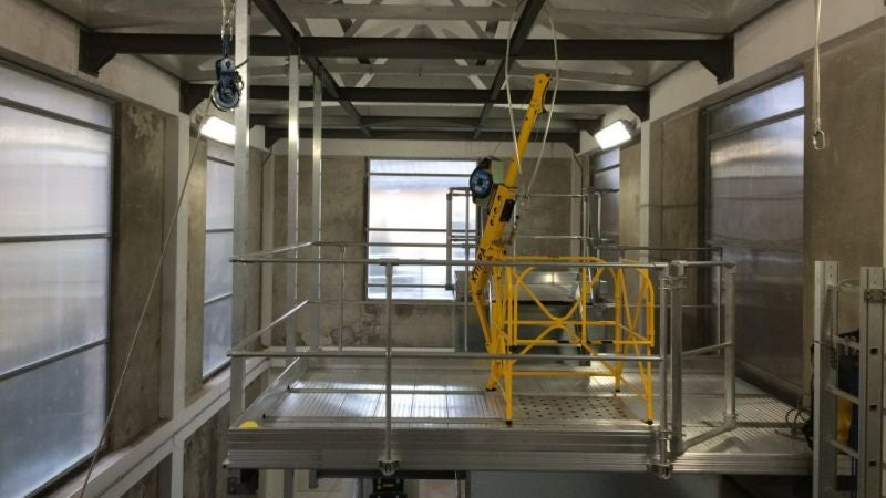 confined space entry system