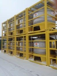 CCR 5000l vertical offshore tank