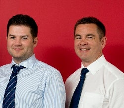 L-R Head of Pigging Paul Otway and Head of Integrity Management Grant Adam (Photo: Jee)