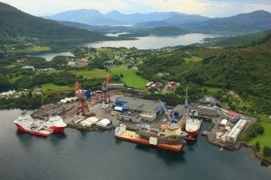 The New building will be constructed at Kleven Verft AS in Ulsteinvik.